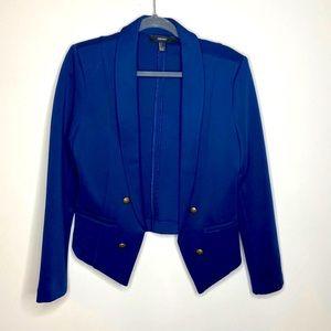 EUC Forever 21 Blue Blazer LG